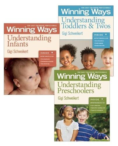 Understanding Infants, Toddlers & Twos, and Preschoolers Set: Ways for Early Childhood Professionals (Paperback)