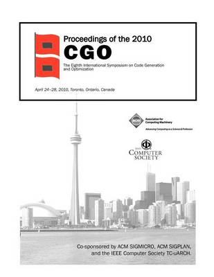 Proceedings of the 2010 Cgo (Paperback)