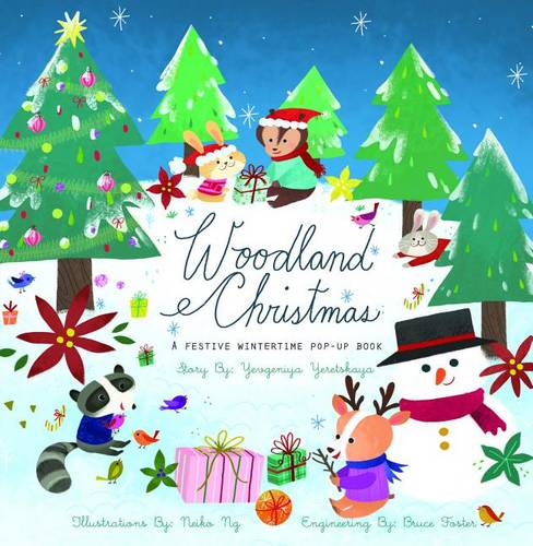 Woodland Christmas: A Festive Wintertime Pop-Up Book (Hardback)