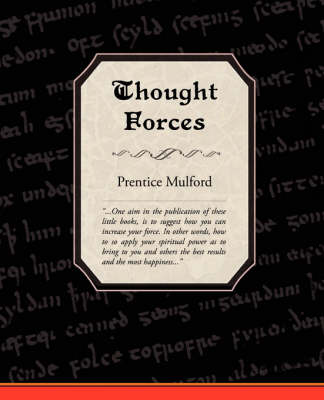 Thought Forces (Paperback)