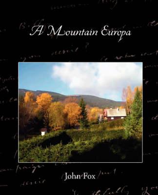 A Mountain Europa (Paperback)