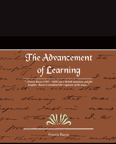 The Advancement of Learning (Paperback)