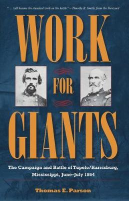Work for Giants: The Campaign and Battle of Tupelo/Harrisburg, Mississippi, June - July 1864 - Civil War Solidiers and Strategies (Hardback)