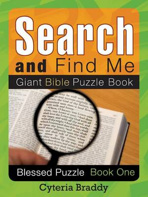 Search and Find Me Giant Bible Puzzle Book (Paperback)