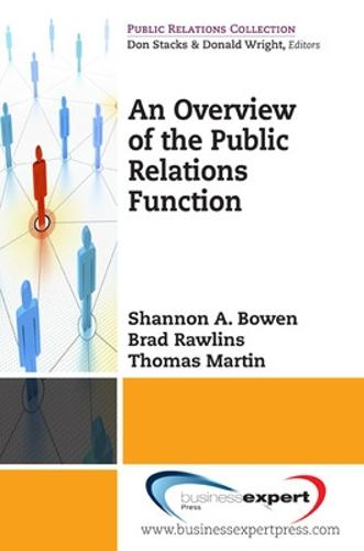 An Overview of the Public Relations Function - Public Relations Collection (Paperback)