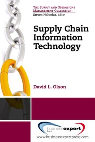 Supply Chain Information Technology (Paperback)