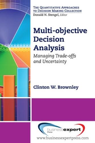 Multi-objective Decision Analysis (Paperback)