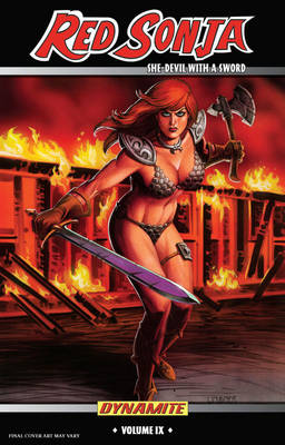 Red Sonja: She-Devil With a Sword Volume 9: Machines of Empire (Paperback)