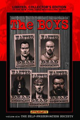 The Boys Volume 6: Self-Preservation Society Limited Edition (Hardback)