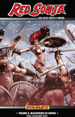 Red Sonja: She-Devil with a Sword Volume 10: Machines of Empire (Paperback)