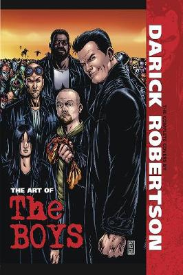 The Art of The Boys: The Complete Covers by Darick Robertson (Hardback)