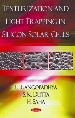 Texturization & Light Trapping in Silicon Solar Cells (Paperback)