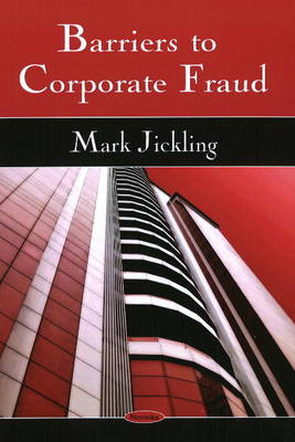 Barriers to Corporate Fraud (Paperback)