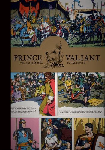 Prince Valiant Vol. 14: 1963-1964 (Hardback)