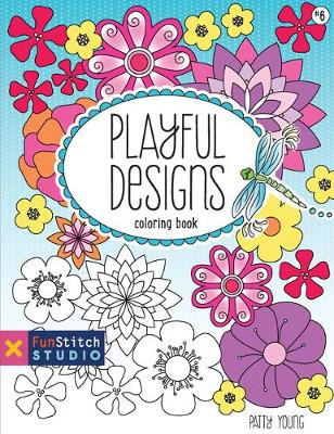Playful Designs: Coloring Book (Paperback)
