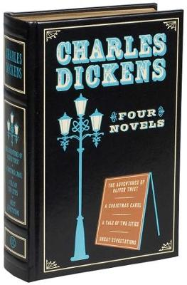 Charles Dickens: Four Novels - Leather-bound Classics (Leather / fine binding)