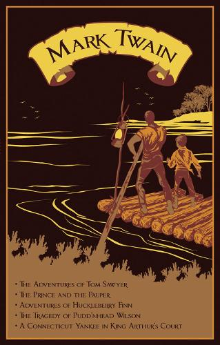 Mark Twain: Five Novels - Leather-bound Classics (Leather / fine binding)
