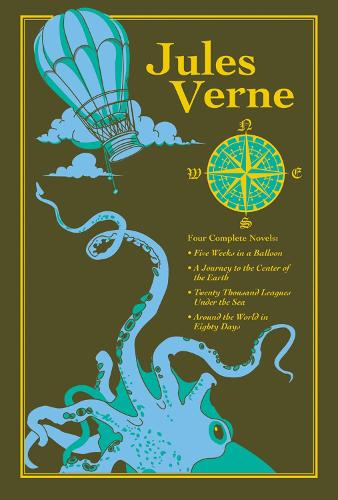 Jules Verne - Leather-bound Classics (Leather / fine binding)