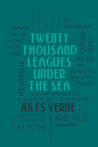Twenty Thousand Leagues Under the Sea - Word Cloud Classics (Paperback)