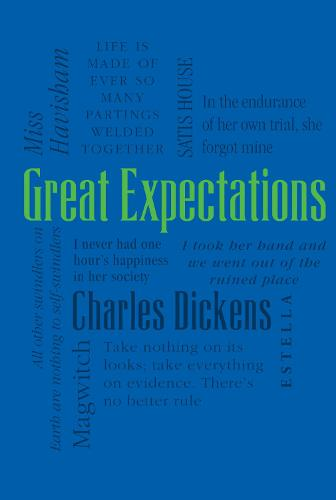 Great Expectations - Word Cloud Classics (Paperback)