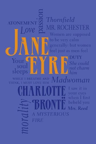 Jane Eyre - Word Cloud Classics (Paperback)