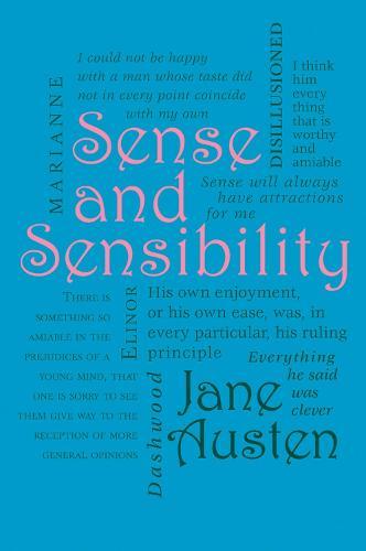 Sense and Sensibility - Word Cloud Classics (Paperback)