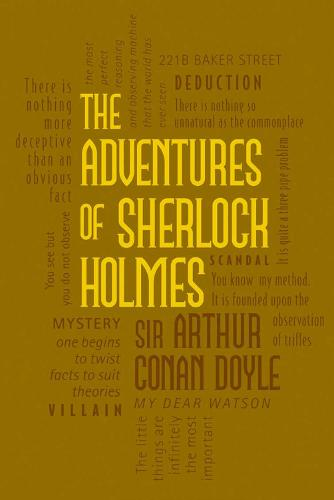 The Adventures of Sherlock Holmes - Word Cloud Classics (Paperback)
