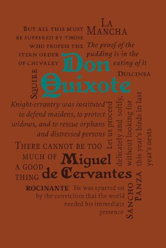 Don Quixote - Word Cloud Classics (Paperback)