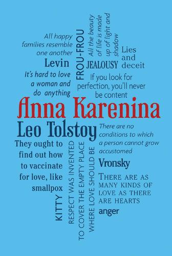 Anna Karenina - Word Cloud Classics (Paperback)