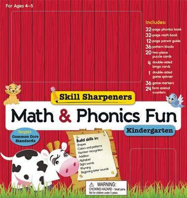 Skill Sharpeners Math and Phonics Fun: Kindergarten - Skill Sharpeners