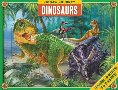 Jigsaw Journey: Dinosaurs - Jigsaw Journey (Hardback)