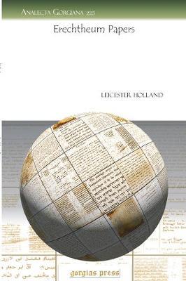Erechtheum Papers (Paperback)
