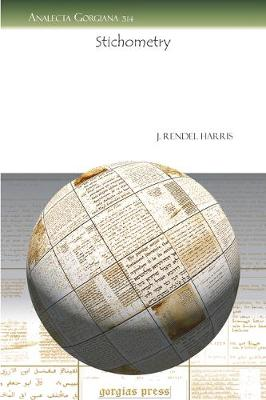 Stichometry (Paperback)