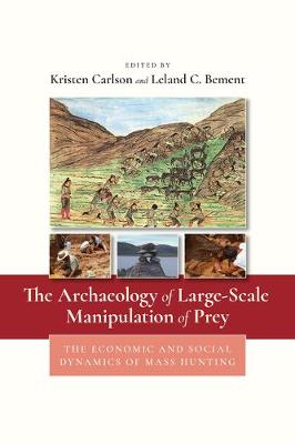 The Archaeology of Large-Scale Manipulation of Prey: The Economic and Social Dynamics of Mass Hunting (Hardback)