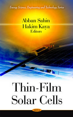 Thin-Film Solar Cells (Hardback)