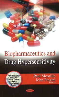 Biopharmaceutics & Drug Hypersensitivity (Hardback)
