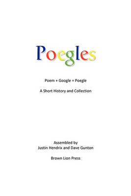 Poegles: A Short History and Collection (Paperback)
