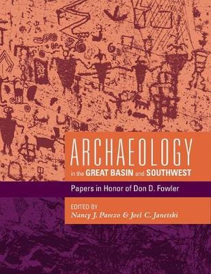 Archaeology in the Great Basin and Southwest: Papers in Honor of Don D. Fowler (Paperback)