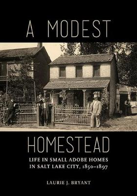A Modest Homestead: Life in Small Adobe Homes in Salt Lake City, 1850-1897 (Paperback)