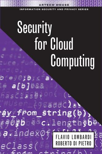 Cloud Computing Security - Information Security and Privacy (Hardback)