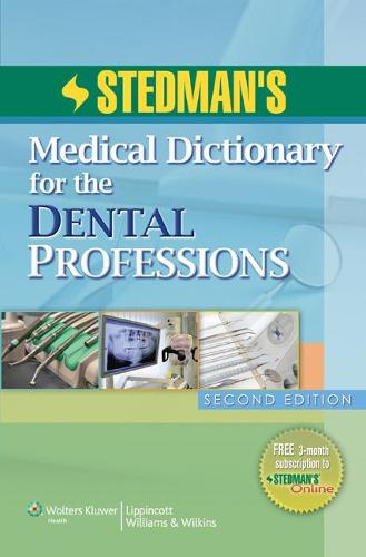Stedman's Medical Dictionary for the Dental Professions (Paperback)