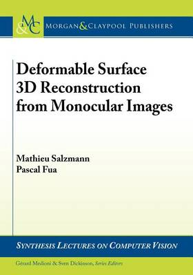 Deformable Surface 3D Reconstruction from Monocular Images (Paperback)