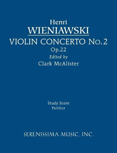 Violin Concerto No.2, Op.22: Study Score (Paperback)