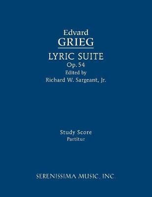 Lyric Suite, Op.54: Study Score (Paperback)