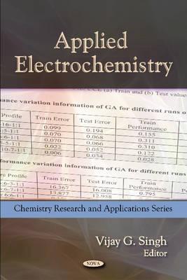 Applied Electrochemistry (Hardback)