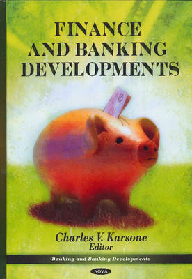 Finance & Banking Developments (Hardback)