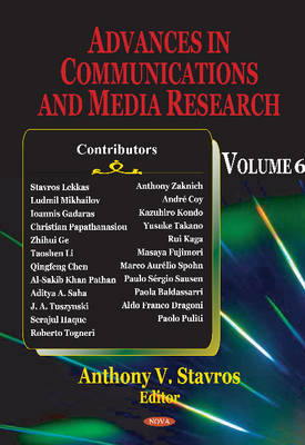Advances in Communications & Media Research: Volume 6 (Hardback)
