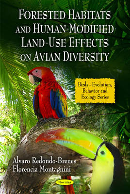 Forested Habitats & Human-Modified Land-Use Effects on Avian Diversity (Paperback)