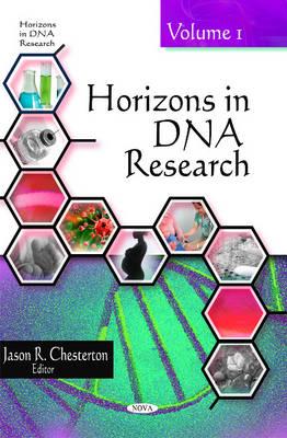 Horizons in DNA Research: Volume 1 (Hardback)