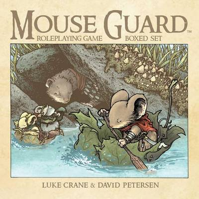 Mouse Guard Roleplaying Game Box Set, 2nd Ed. - Mouse Guard (Paperback)
